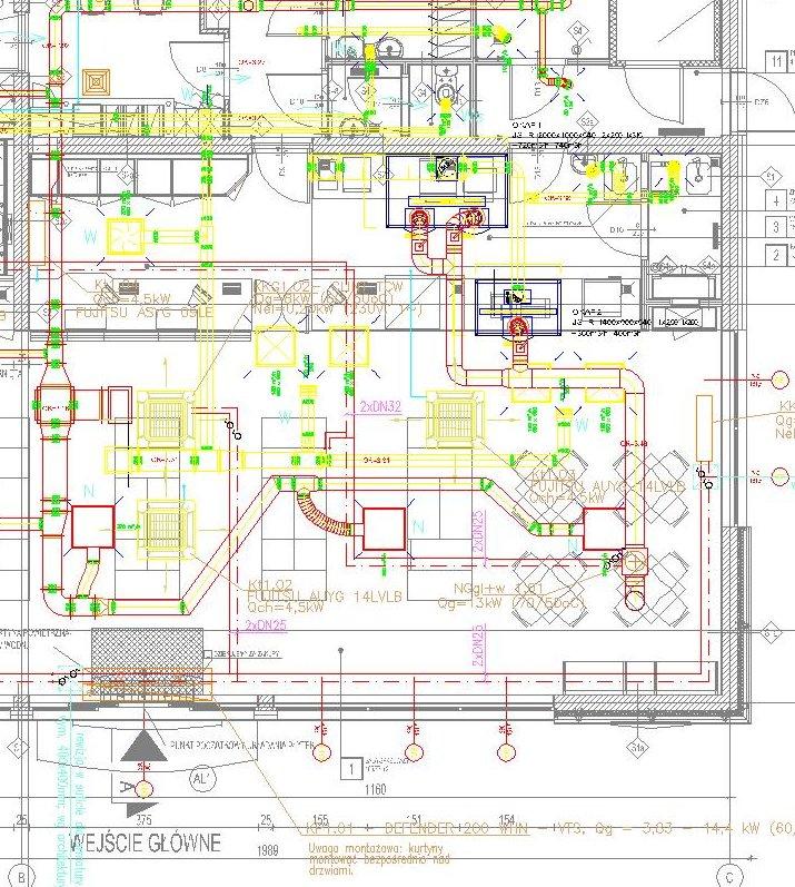 Oryginał Projektowanie sieci, instalacji i urządzeń wod-kan, gaz, c.o. TP36